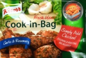 Knorr Cook in Bag Garlic & Rosemary